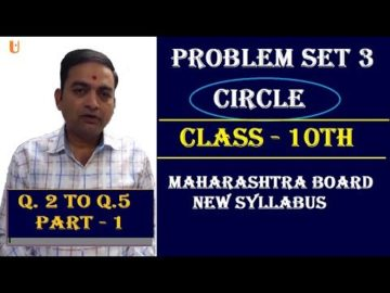 Problem Set 3 | Q.2 to Q.5 |Class 10th Maharashtra Board New Syllabus