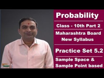 Probability Practice Set 5.2 Class 10 Maharashtra Board New Syllabus Part 2