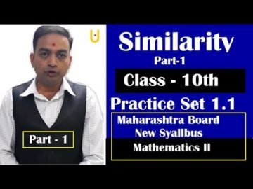 Similarity Class 10th Maharashtra Board New Syllabus Part 1