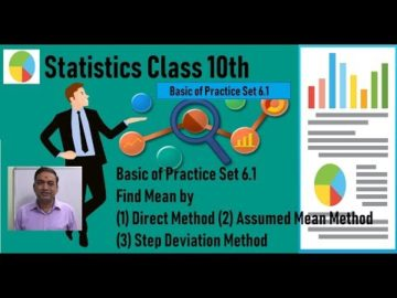 Statistics Basic of Practice Set 6.1 Class 10th Maharashtra Board New Syllabus Part 1
